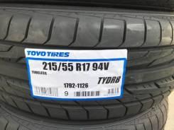 Toyo TYDRB. Летние, 2017 год, без износа, 4 шт