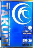 Takumi. 5W-20, синтетическое, 4,00л.