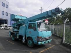 Nissan Atlas. Автовышка, 3 500куб. см., 18м.