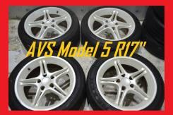 """Оригинальные разноширокие диски AVS Model 5 R17"""" б/п по РФ"""