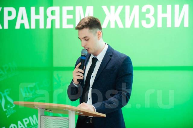 Ведущий Фёдор Крапчетов