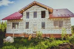 Быстровозводимый дом из блока за 1,5 месяца!