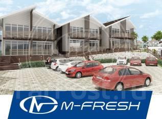 M-fresh Ocean (Проект каркасного дома отдыха у моря, реки. Витражи! ). 100-200 кв. м., 2 этажа, 8 комнат, каркас