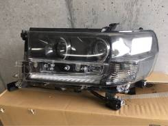 Фара Левая LED LAND Cruiser 200 202 2016+ Black and White 81106-60K10