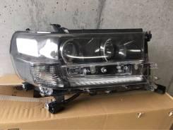 Фара Правая LED LAND Cruiser 200 202 2016+ Black and White 81105-60K10