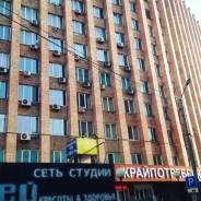ОФИС на Семеновской - 18 кв. м. Центр. 18 кв.м., улица Мордовцева 3, р-н Центр. Дом снаружи