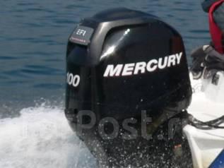Mercury. 100,00л.с., 4-тактный, бензиновый, нога L (508 мм), Год: 2011 год