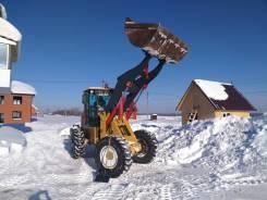 Уборка снега фронтальным погрузчиком 1.8м3/3000кг