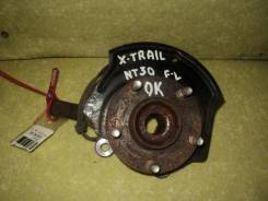 Поворотный кулак Nissan X-Trail, левый передний