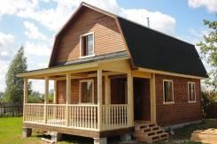 Строим дома из бруса, профбруса, бревна, каркасных
