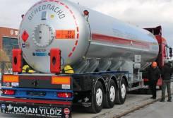 Dogan Yildiz. Газовоз новый 40 м3 облегченный 10800 кг. Под заказ