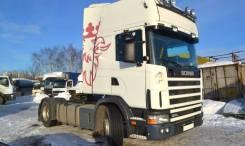 Scania R124. Седельный тягач LA4X2LA 420. Страна производства – Швеция., 11 700 куб. см., до 3 т