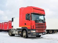 Scania R124. Седельный тягач 2004 г/в, 11 700 куб. см., 10 т и больше