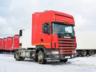 Scania R124. Седельный тягач 2004 г/в, 11 700куб. см., 18 000кг.
