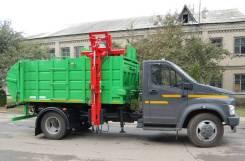 Рарз. МК-1552-13 на шасси ГАЗ-С41R13 Мусоровоз (бок. загр), 6 700куб. см.