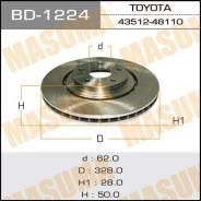 Диск тормозной MASUMA front LEXUS/ RX270, 350, 450H [уп.2] BD-1224