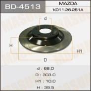 Диск тормозной MASUMA rear CX-5 [уп.2] BD-4513