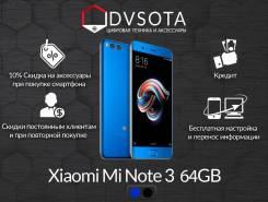 Xiaomi Mi Note 3. Новый, 64 Гб, Синий, 4G LTE