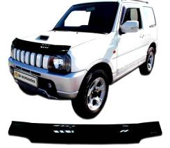 Дефлектор капота. Suzuki Jimny, JA33V, JB23W, JB33, JB43, JB53 Двигатели: G13BB, K6A, K9K266, M13A