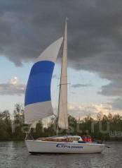 Парусная яхта Микро. Длина 5,50м., 1989 год год. Под заказ