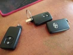 Ключ зажигания, смарт-ключ. Toyota Prius, ZVW30, ZVW30L, ZVW35, ZVW40 Двигатели: 2ZRFXE, 5ZRFXE