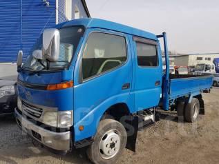 Toyota Dyna. ДЮНА 4WD МОСТ Б/П по России, 4 600куб. см., 2 500кг.