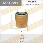 Воздушный фильтр A-444 MASUMA (1/12) MFA-567