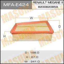 Воздушный фильтр A0459 MASUMA LHD RENAULT/ MEGANE II/ V1600 08- (1/22) MFA-E424