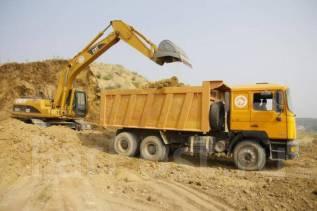 Продажа и доставка строительного песка.