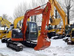 Hitachi ZX75US-A. Мини-экскаватор Hitachi ZX75US, 2005 Г. В.