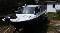Сарепта. длина 4,65м., двигатель подвесной, 60,00л.с., бензин