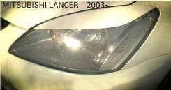 Накладка на фару. Mitsubishi Lancer, CS1A, CS2A, CS3A, CS3W, CS5A, CS5W, CS6A, CS7W, CS9A, CS9W, CS2W, CS7A, CS2V Двигатели: 4G13, 4G15, 4G18, 4G63, 4...