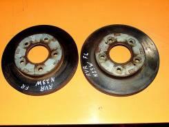 Диск тормозной. Mitsubishi RVR, N21W, N21WG, N23WG, N28WG Двигатели: 4D68, 4G63, 4G93