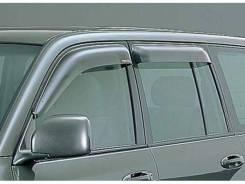 Дефлекторы боковых окон Toyota LC100 1997-2007 (с креплениями)
