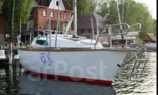 Парусная яхта СТ-251 1998 г. с новыми парусами и красным деревом. Длина 7,60м., Год: 1998 год. Под заказ