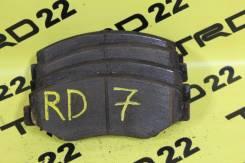 Колодка тормозная. Honda CR-V, RD5, RD6, RD7 Двигатели: K20A, K20A4, K20A5, K24A, K24A1, N22A2