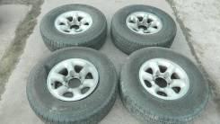 """Комплект колес на Mitsubishi Pajero с резиной Yokohama Geolandar H/T. 7.0x15"""" 6x139.70 ET10"""