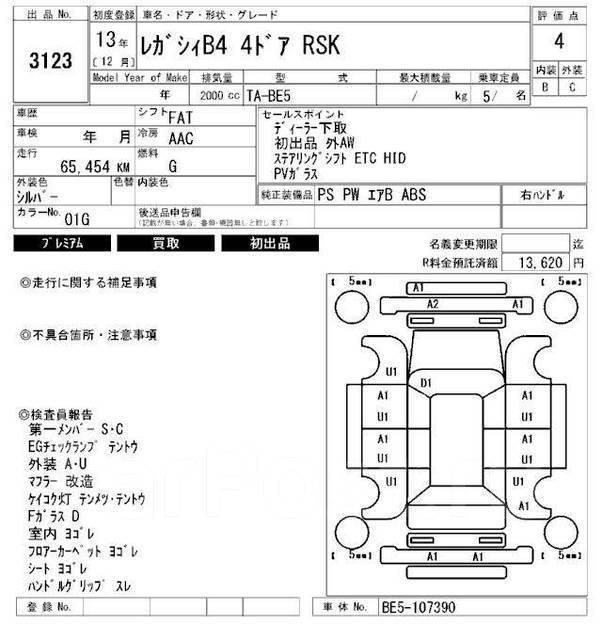 Накладка на стоп-сигнал. Subaru Legacy, BE5, BE9, BEE, BES Subaru Legacy B4, BE5 Двигатели: EJ202, EJ204, EJ206, EJ208, EJ254, EZ30D