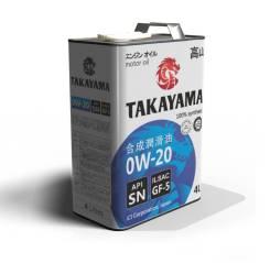 Takayama. 0W-20, синтетическое, 4,00л.