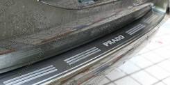 Накладка на бампер. Toyota Land Cruiser Prado, GDJ150, GDJ150L, GDJ150W, GRJ150, GRJ150L, GRJ150W, KDJ150, KDJ150L, LJ150, TRJ150, TRJ150L, TRJ150W