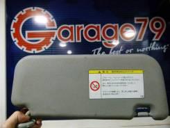 Козырек солнцезащитный. Toyota Vitz, NCP95, NCP91, KSP90, SCP90 Двигатели: 2NZFE, 1NZFE, 1KRFE, 2SZFE