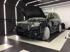 Восстановительная полировка автомобиля.