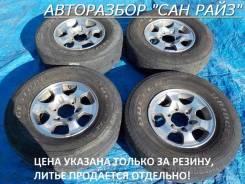 Bridgestone Dueler H/L. Летние, 2014 год, износ: 50%, 4 шт