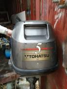 Tohatsu. 5,00л.с., 4-тактный, бензиновый, нога L (508 мм), 2000 год год