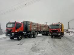 Iveco Trakker. Седельный тягач AT720T45WT (AMT 633910), 12 998куб. см., 85 000кг.