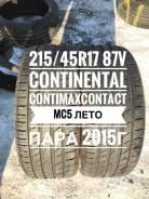 Continental ContiMaxContact MC5. Летние, 2015 год, 5%, 2 шт. Под заказ