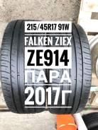 Falken Ziex ZE914 Ecorun. Летние, 2017 год, 10%, 2 шт