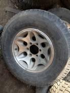 """1 колесо Yokohama Geolander i/t 6072 на диске П2. 7.0x16"""" 4x139.70 ET10 ЦО 110,0мм."""