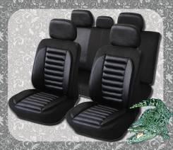 """Авточехлы """"Akuba Крокодил FAS-11"""" FAS11/BK черные"""