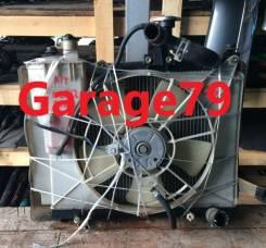 Радиатор охлаждения двигателя. Toyota Platz, NCP12. Под заказ